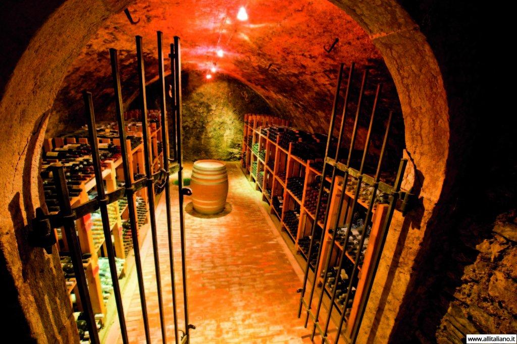 Дегустация вина в винном погребе производителя