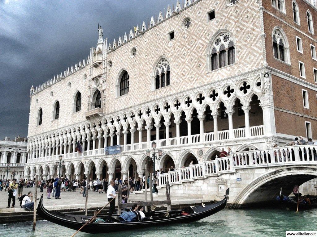Дворец Дожей, Венеция.