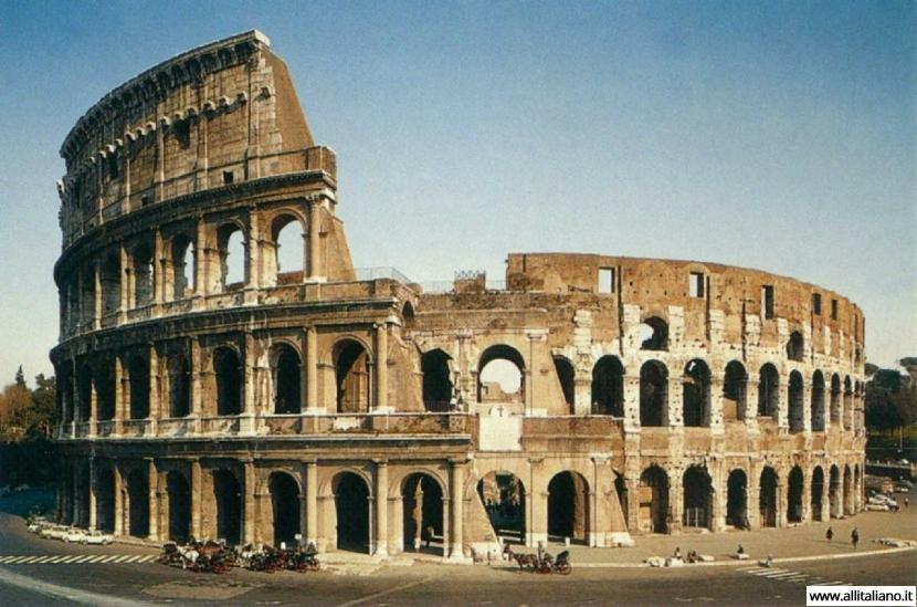 Творчество на стенах римского Колизея