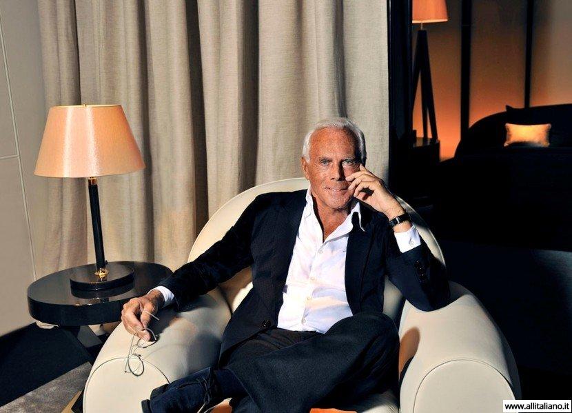 Джорджио Армани — икона итальянского стиля