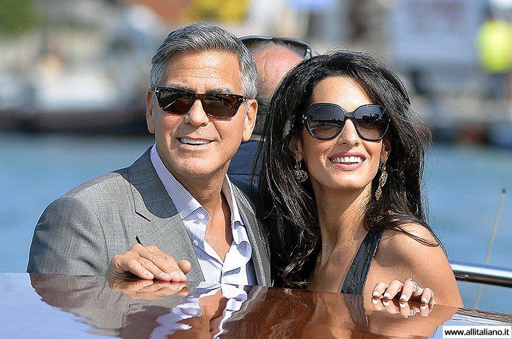 Свадьба Джорджа Клуни прошла в Венеции