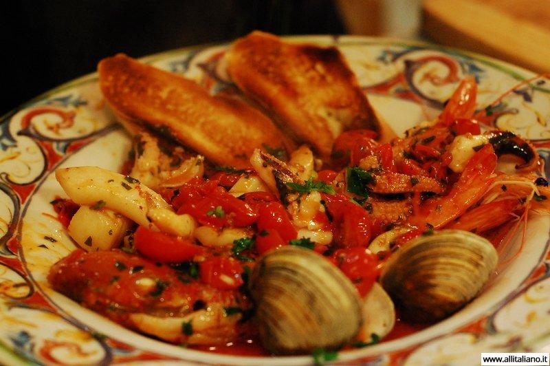 «Чиамботто» — блюдо из морепродуктов