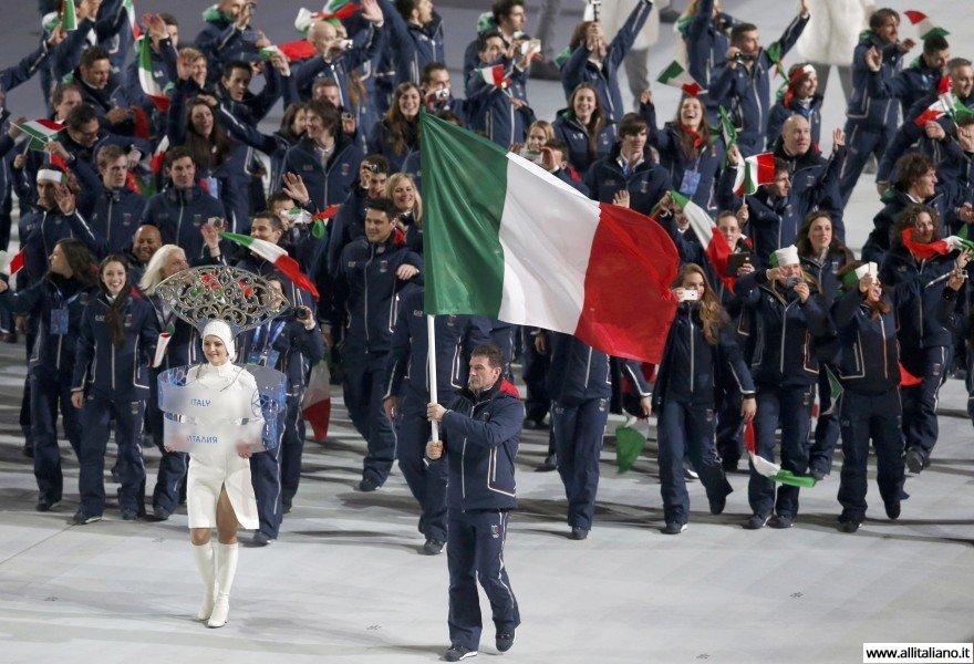 Итальянская команда на олимпийских играх в Сочи 2014, Армин Цоггерел - знаменосец