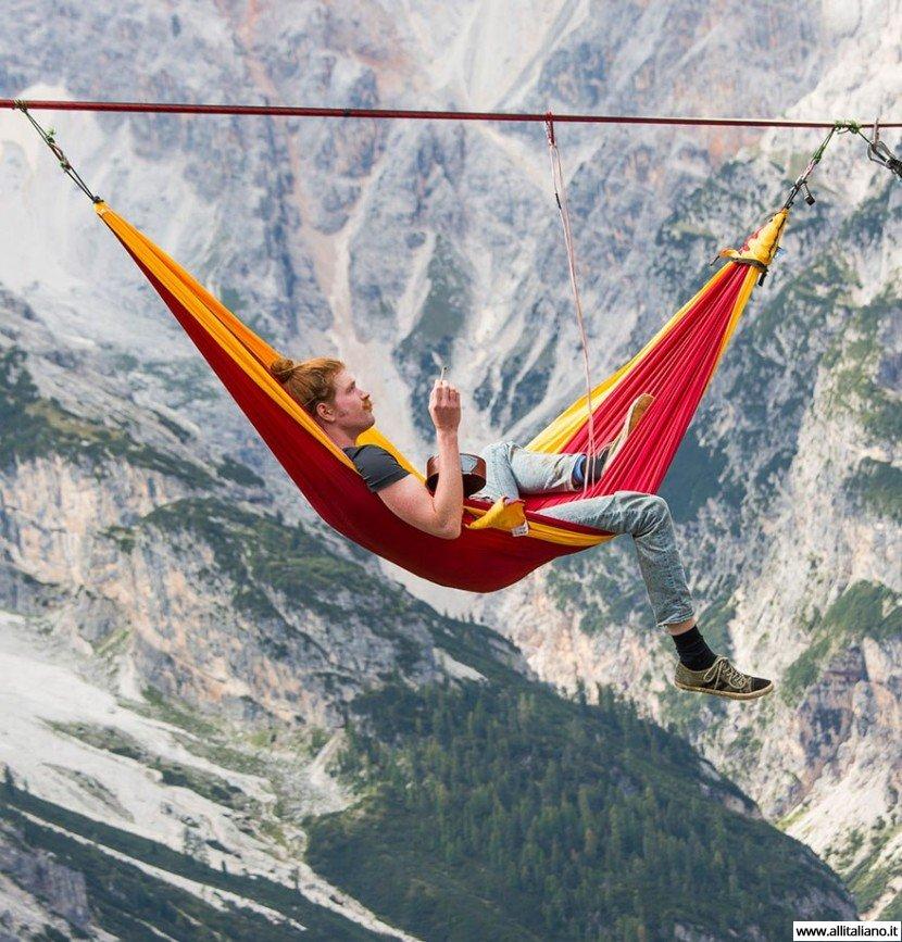 Фестиваль хайлайнеров — переночевали прямо на высоте