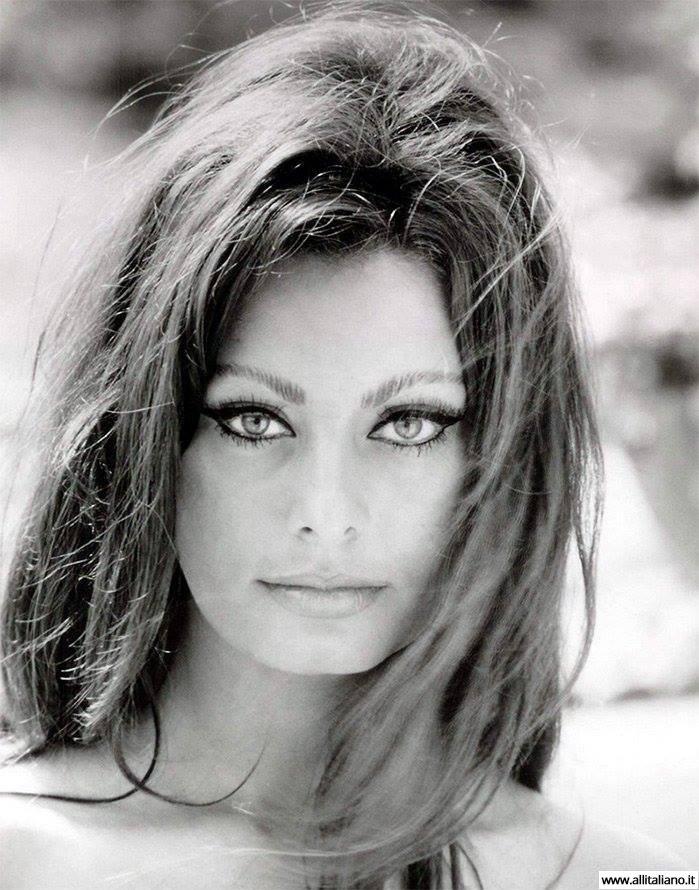 Итальянская красавица, Софи Лорен