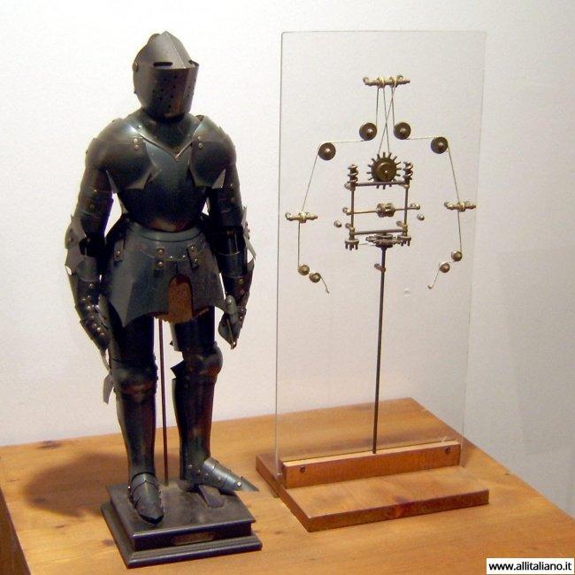 Механический рыцарь, изобретенный Леонардо