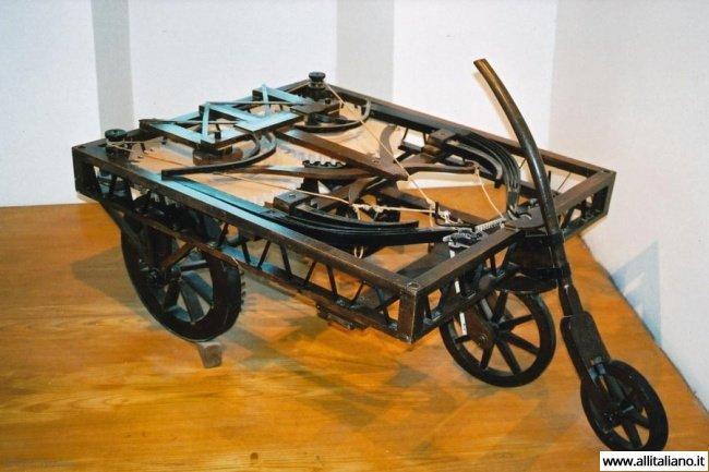 Прототип автомобиля от Леонардо