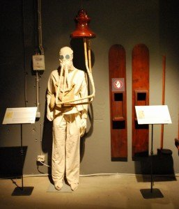 Акваланг, изобретенный Леонардо да Винчи