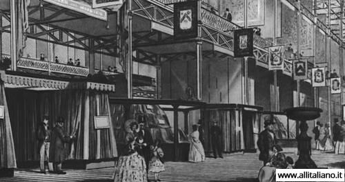 Лондон, первая Всемирная выставка, 1851 год