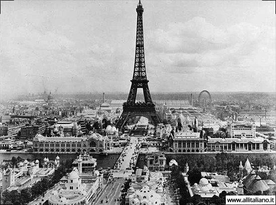Всемирная выставка, Париж 1889 год