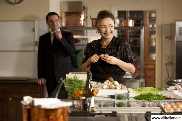 Женщина-повар - очень рапространено в Италии