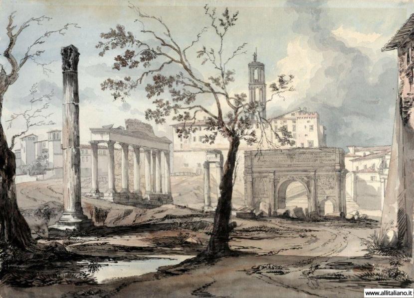 Развалины римской империи