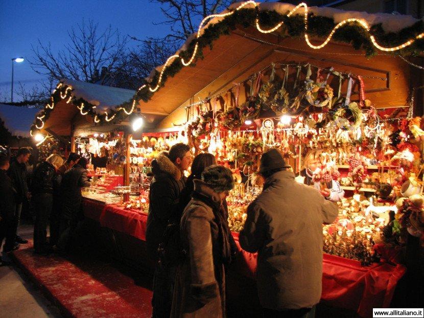 Рождественские рынки — итальянское чудо