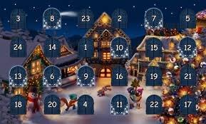 Календарь адвента - приближение Рождества.