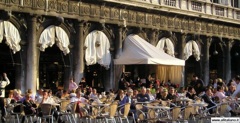 Самое знаменитое в мире кафе «Флориан» в Венеции