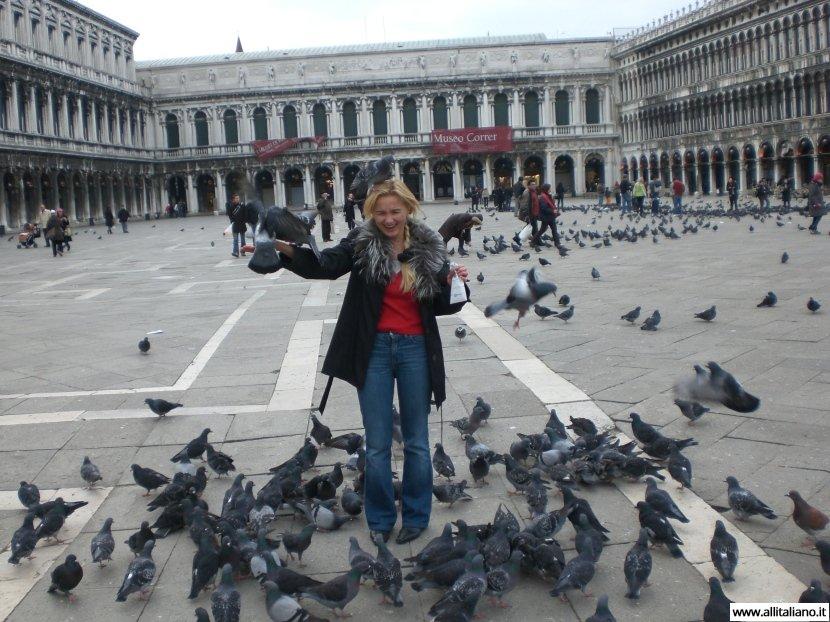 Один день в Венеции зимой
