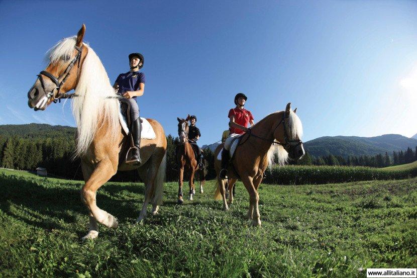 Верхом на коне по Южному Тиролю