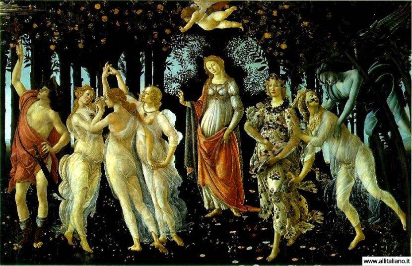 «Весна» Боттичелли — свадебный подарок