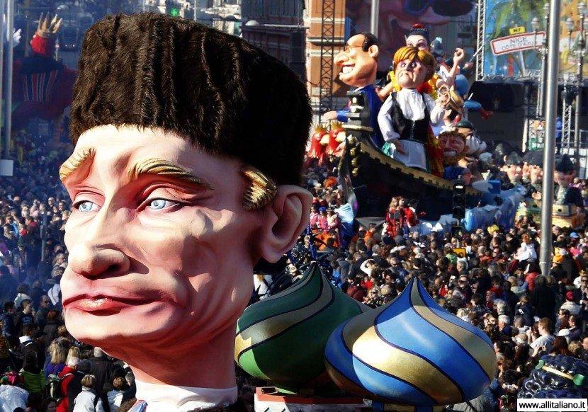 Карнавалы в Венеции, Ницце, Кёльне и Рио-де-Жанейро