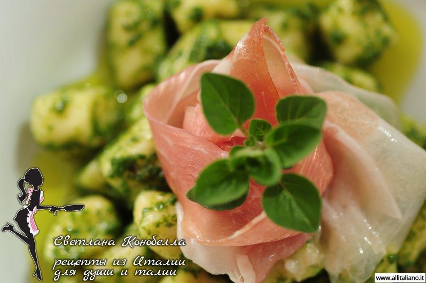 Картофельные ньоки, рецепт от итальянского шеф-повара