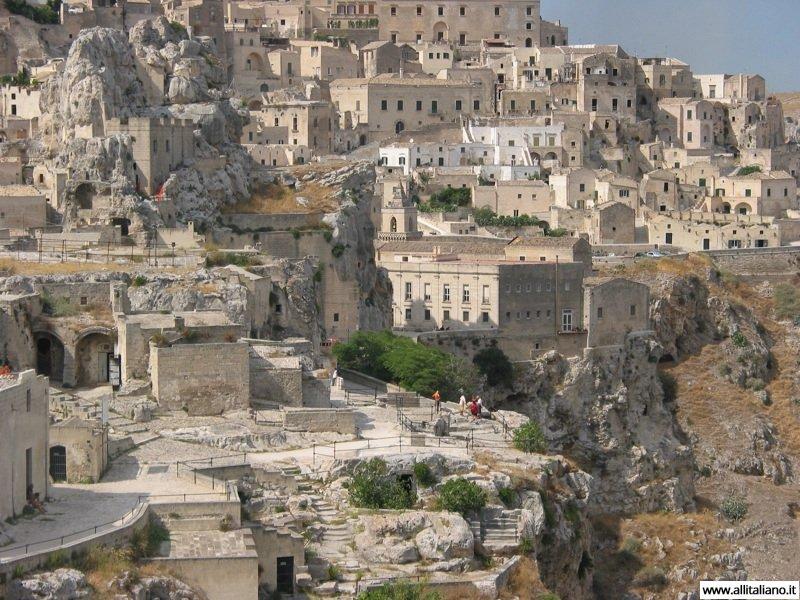 Матера — город-призрак в Базиликате