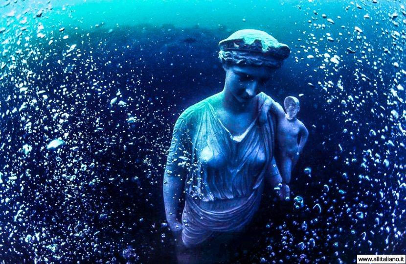 Байи: античный город, ушедший под воду