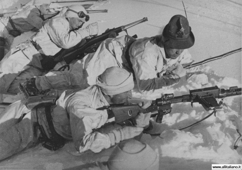 Итальянские стрелки во Второй мировой