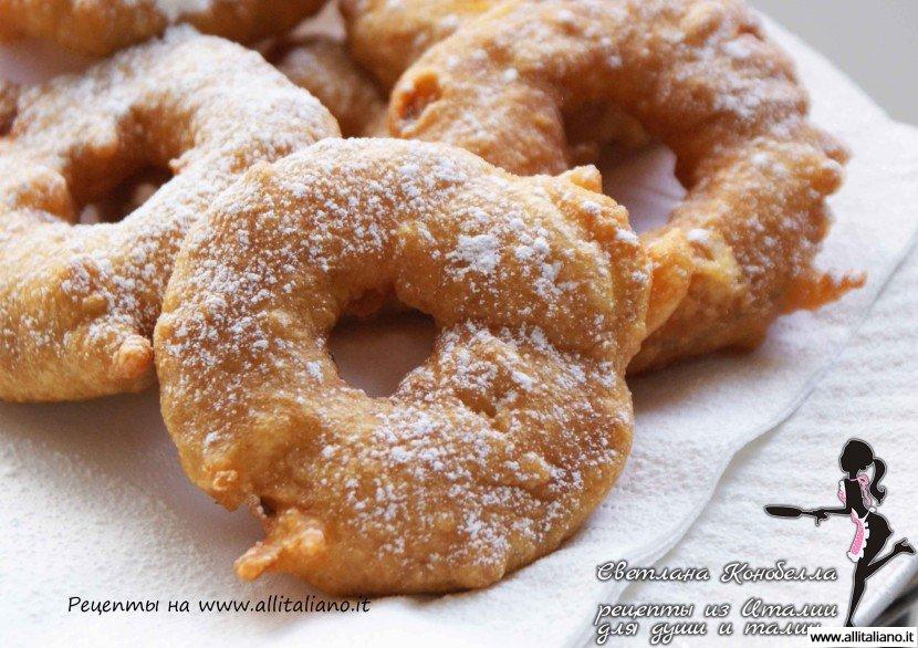 «Апфелькихль» — рецепт десерта из яблок